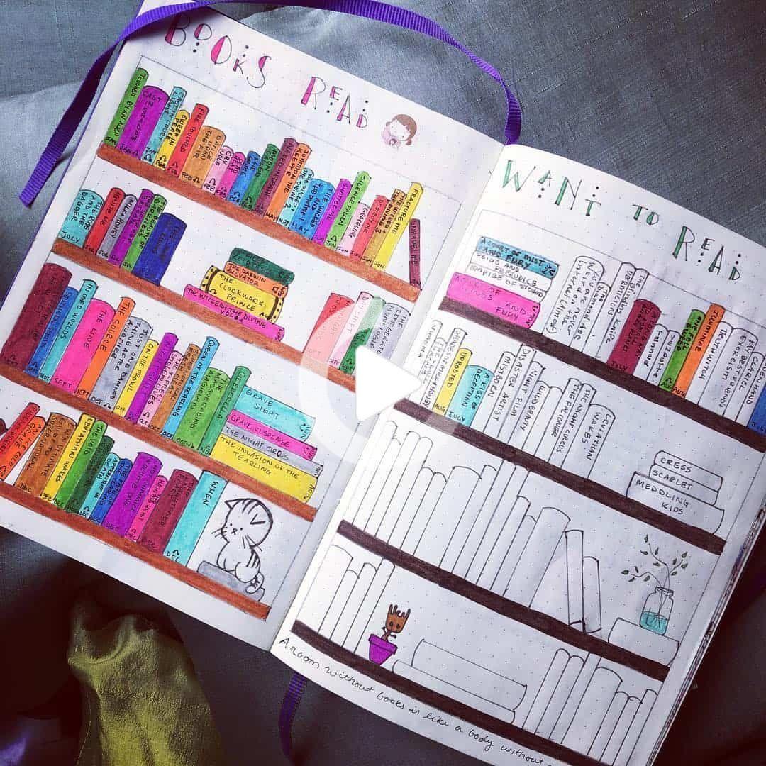 creative book readin
