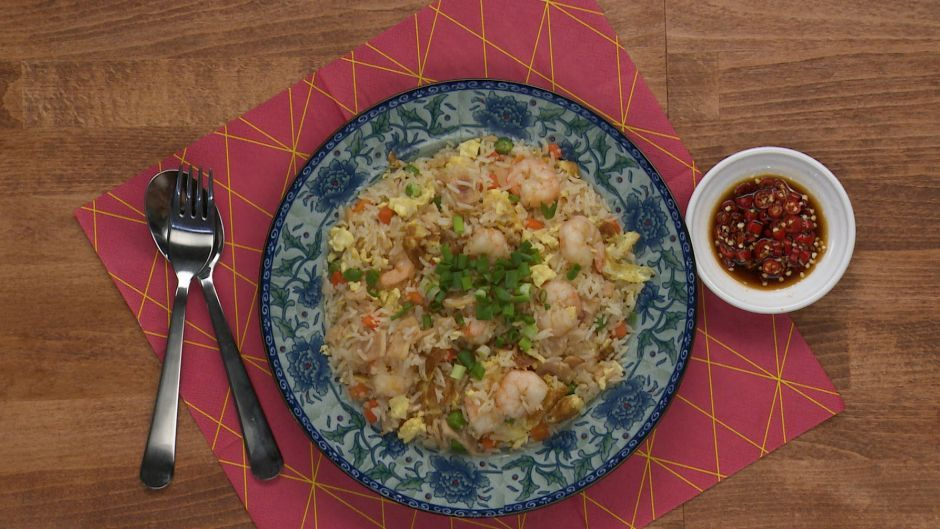 Yangzhou fried rice asian food channel afcfood network recipes enjoy a classic dish with this quick and easy chinese fried rice recipe forumfinder Gallery