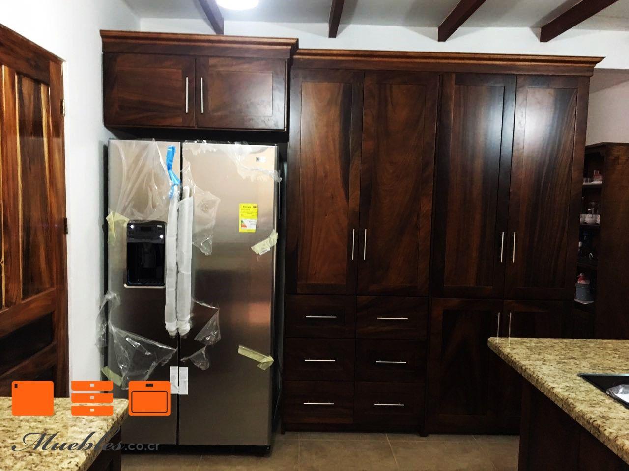 Mueble de cocina con refrigerador empotrado muebles de for Muebles de cocina df