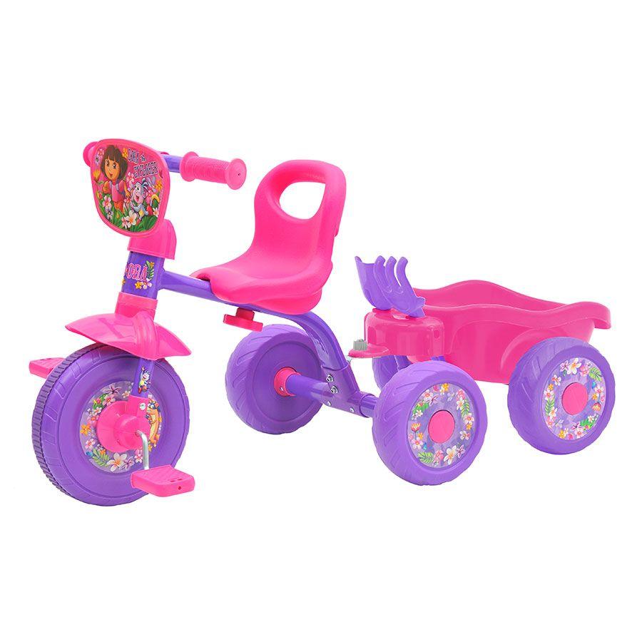 Dora Trike with Trailer   Toys R Us Australia
