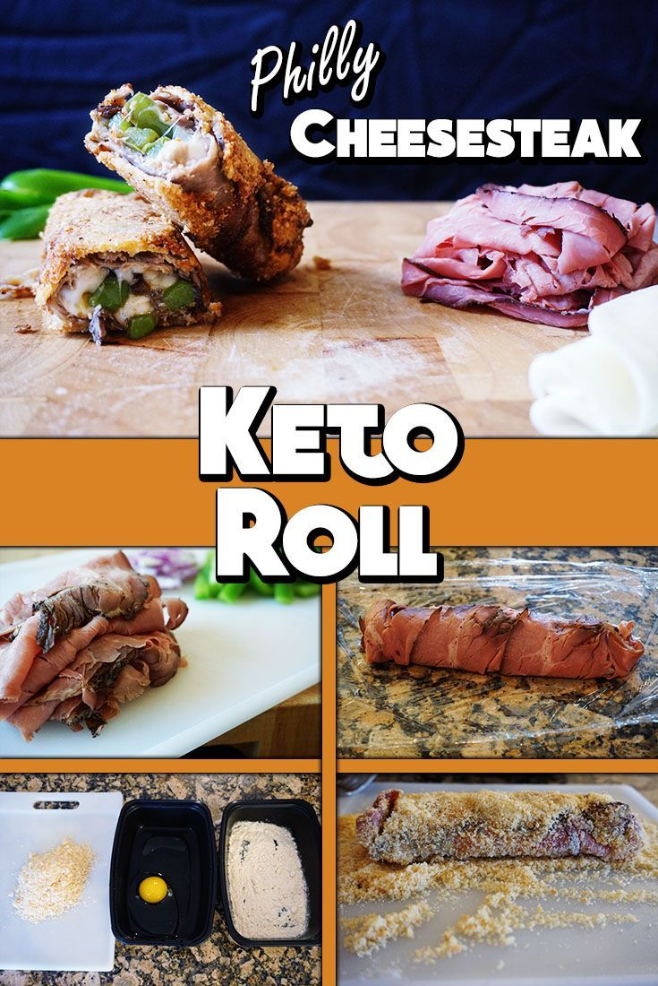 Philly Cheesesteak Keto Roll Recipe Best Low Carb Main Dish