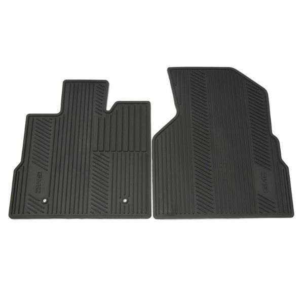 These Precision Designed Front Premium All Weather Floor Mats Fit Your Terrain Perfectly Their Deep Ribbed Pattern Collects Rain Gmc Accessories Gmc Floor Mats