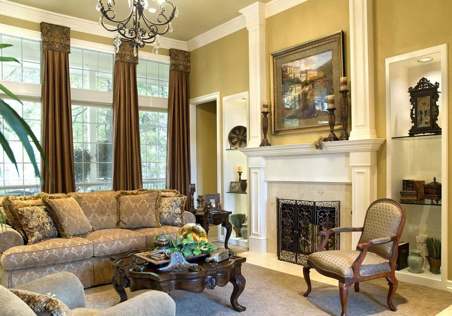 47 Old Fashioned How To Decorate Living Room Ideas Tuscan