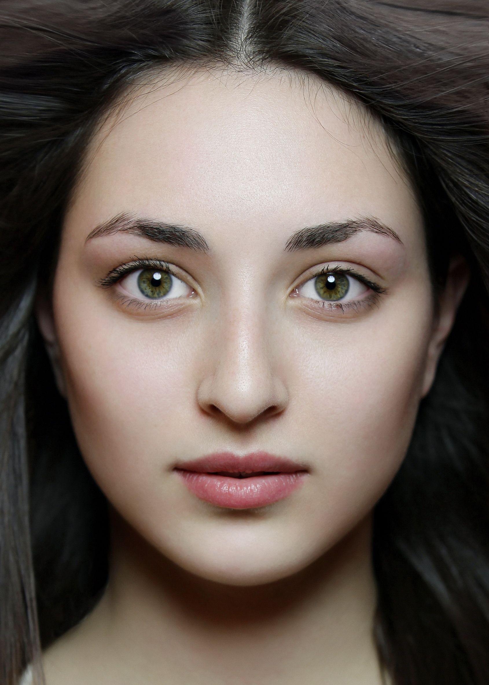 Schöne jüdische Mädchen