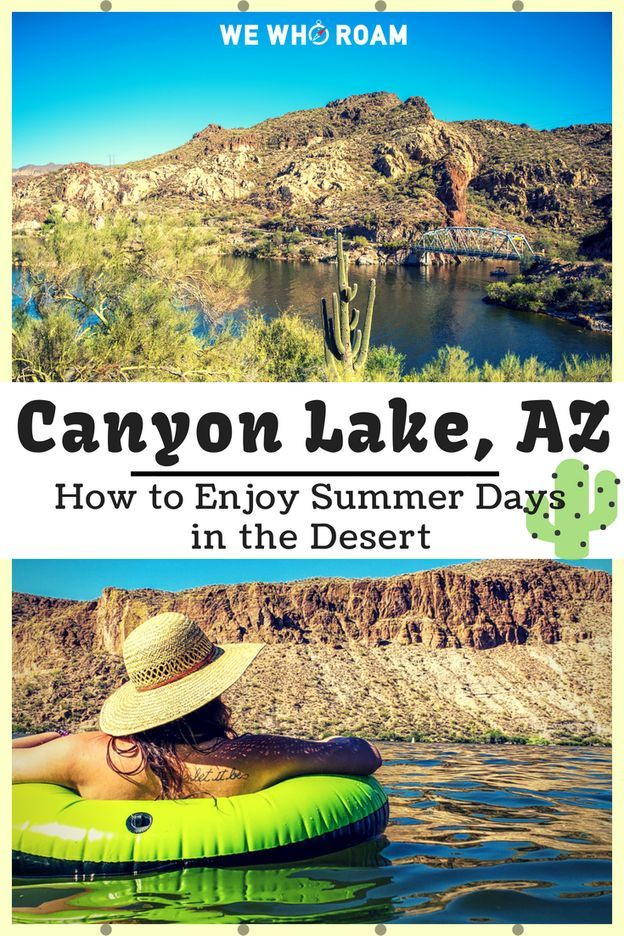 Canyon Lake Arizona: How to Enjoy Summer Days in the Desert