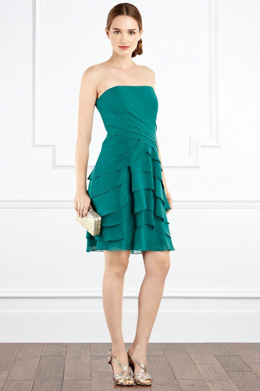 Atemberaubend Ann Taylor Brautjungfer Kleid Galerie - Brautkleider ...