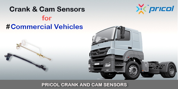 Pricol Crack and Cam Position Sensor Technology for your