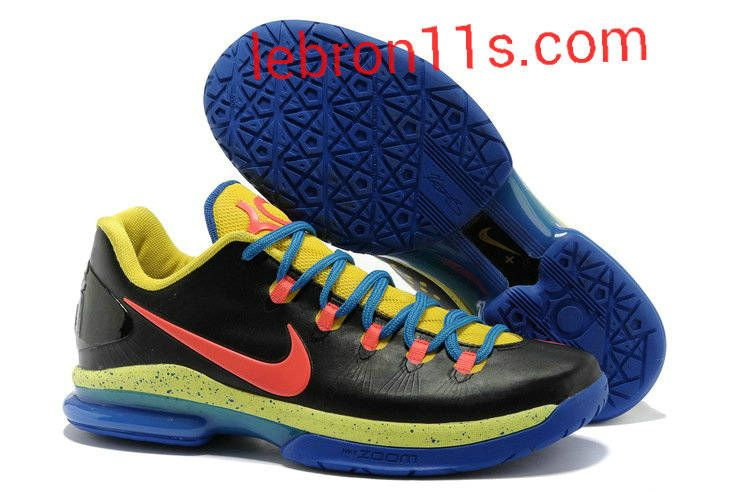 Lebron11s.com Wholesale Kevin Durant Sneakers V Low KD 5 Elite Thunder Away  585385 200 Discount To  62.49 7954bdc61