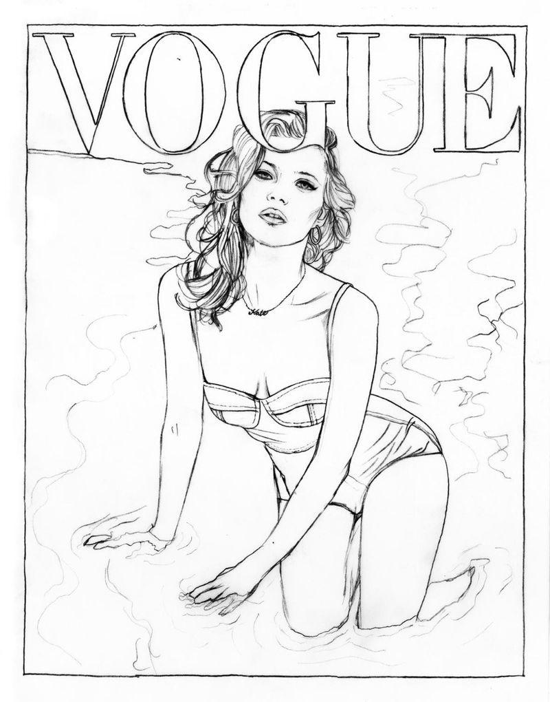 Vogue A Colorier Vogue Paris Fashion Coloring Book Coloring Pictures Coloring Books