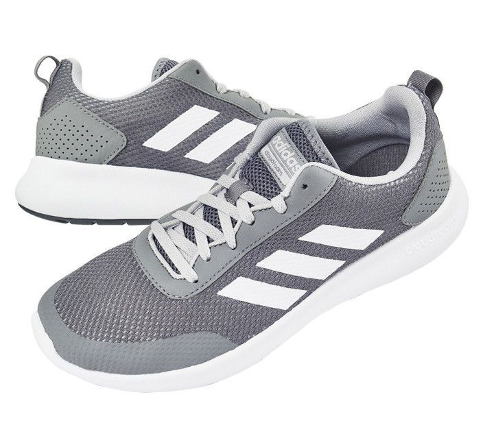 reputable site 4f990 2da51 adidas CF Element Race Men s Running Shoes Gray Fitness Gym Walking DB1463   adidas  RunningCrossTraining