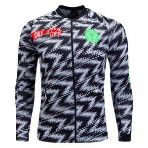 2018 World Cup Nigeria Grey Replica Anthem Jacket  CFC264   7a642cae2