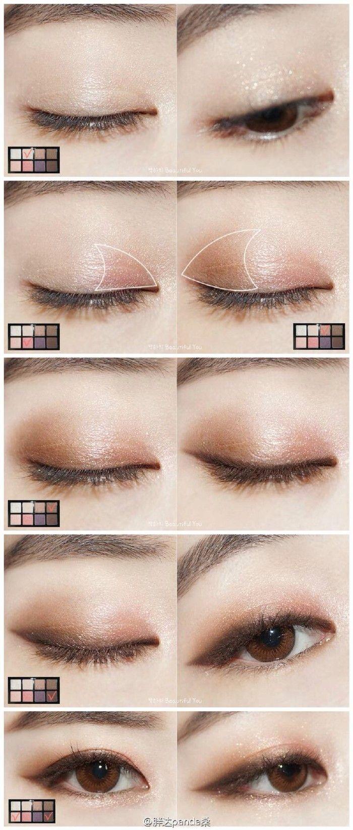 Korean Eye Makeup Tutorial Natural Look Jidimakeup