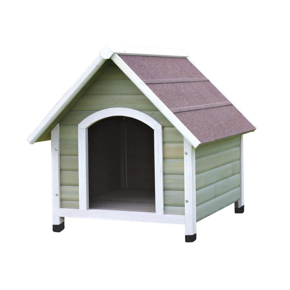 Trixie Nantucket Large Dog House In Tan White 39471 Products In