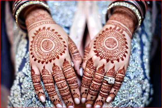 Simple Bridal Mehndi Designs Hd : Simple and stylish bridal mehndi designs