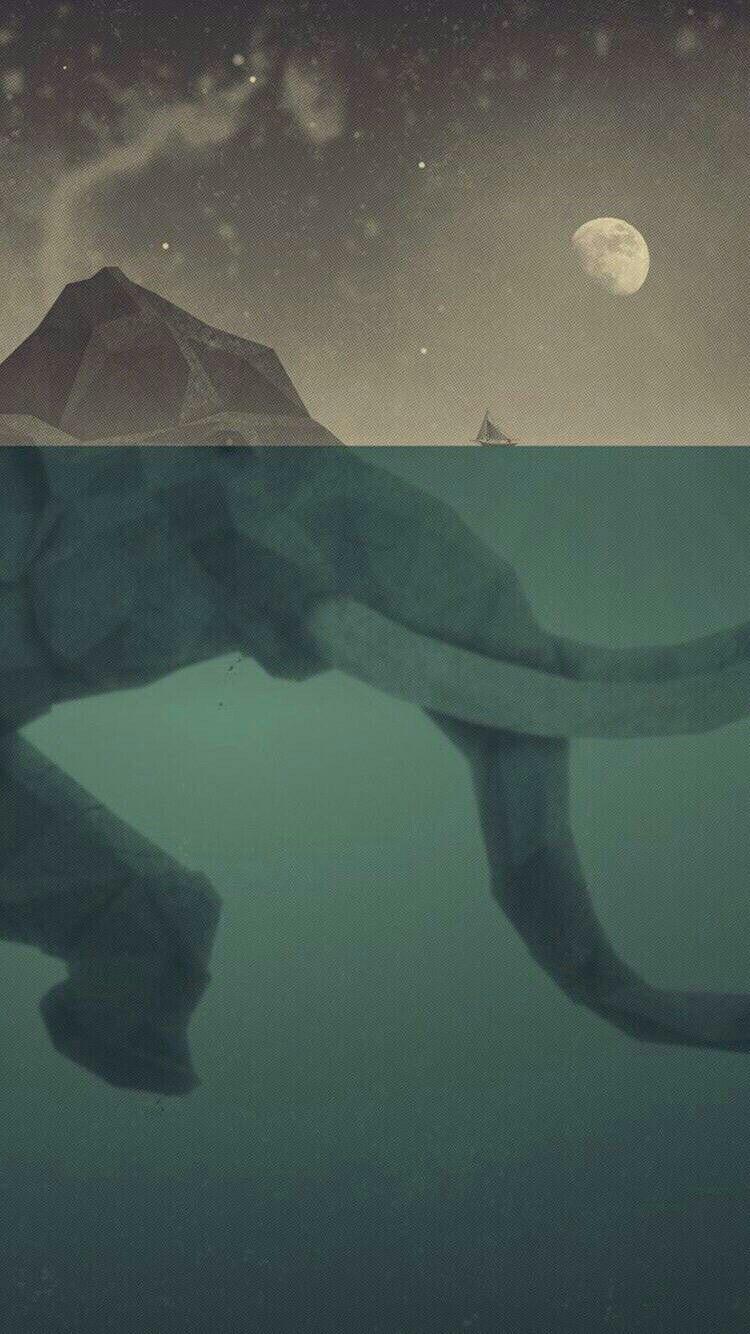 Pin by Cadence Aurora on Minimalist Wallpaper Elephant