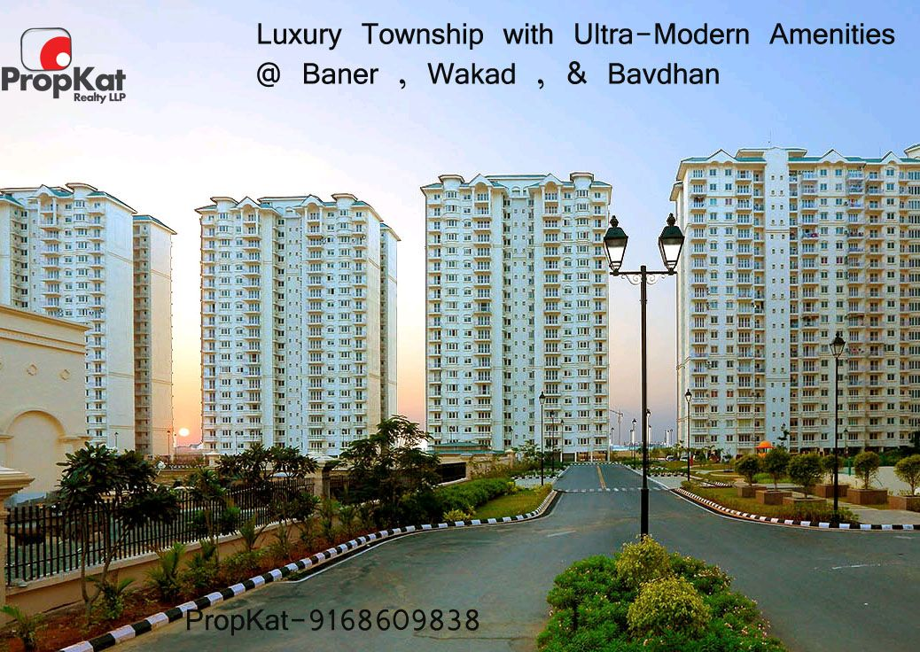 Luxury Township With Ultra Modern Amenities Baner Bavdhan