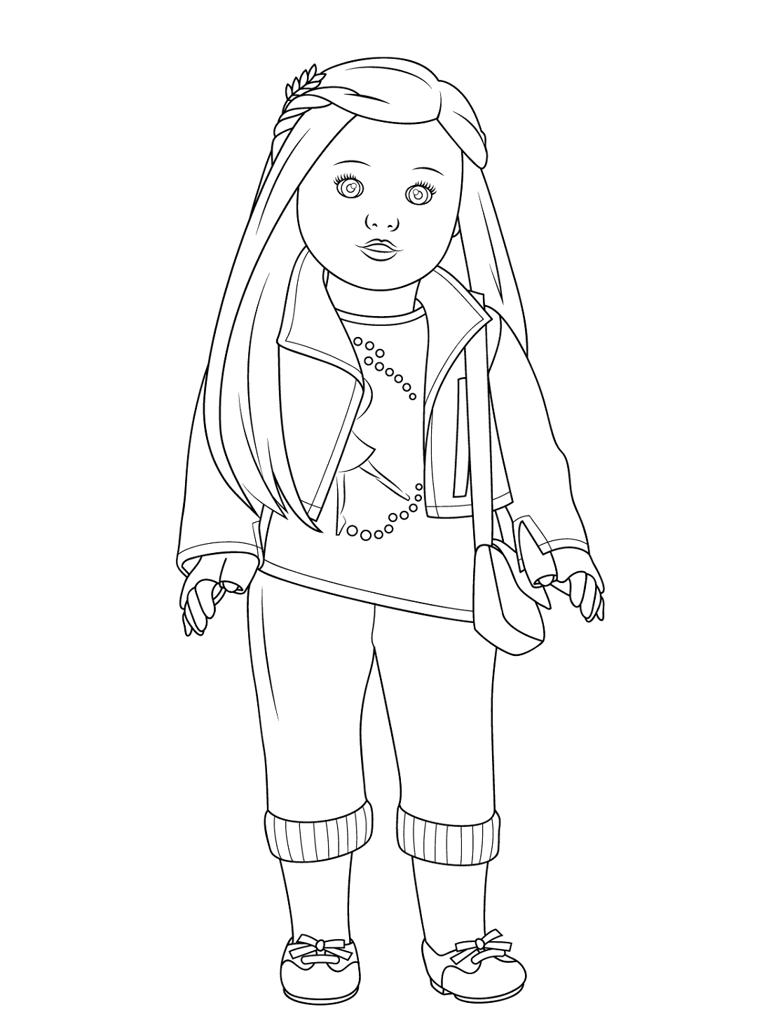 American Girl Doll Coloring Pages Printable Coloring Pages For Girls Baby Coloring Pages American Girl Doll Printables