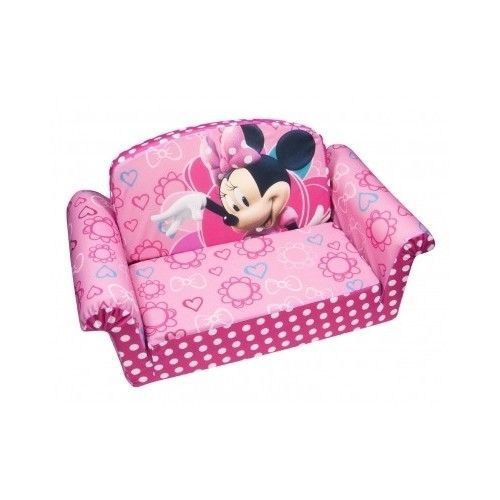 Superb Disney Minnie Mouse Furniture Toddler Pullout Couch Kiddie Bralicious Painted Fabric Chair Ideas Braliciousco