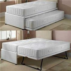 Kids Bed Converts To Guest Bed I Want To Build This Bed Frame Cool