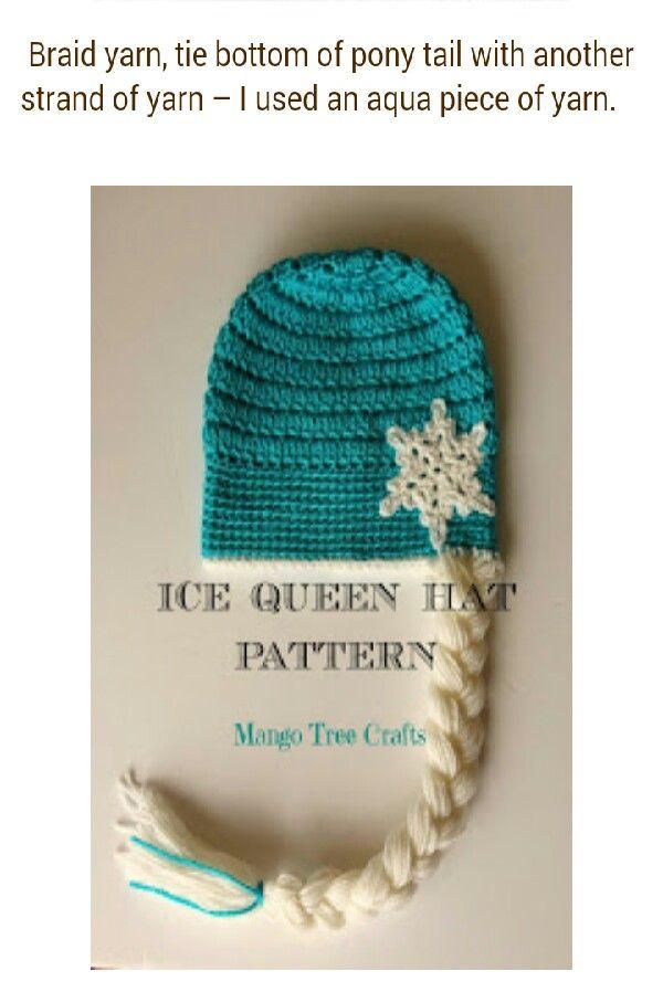 Disney's Frozen Elsa Ice Queen Hat Pattern!! #queenshats