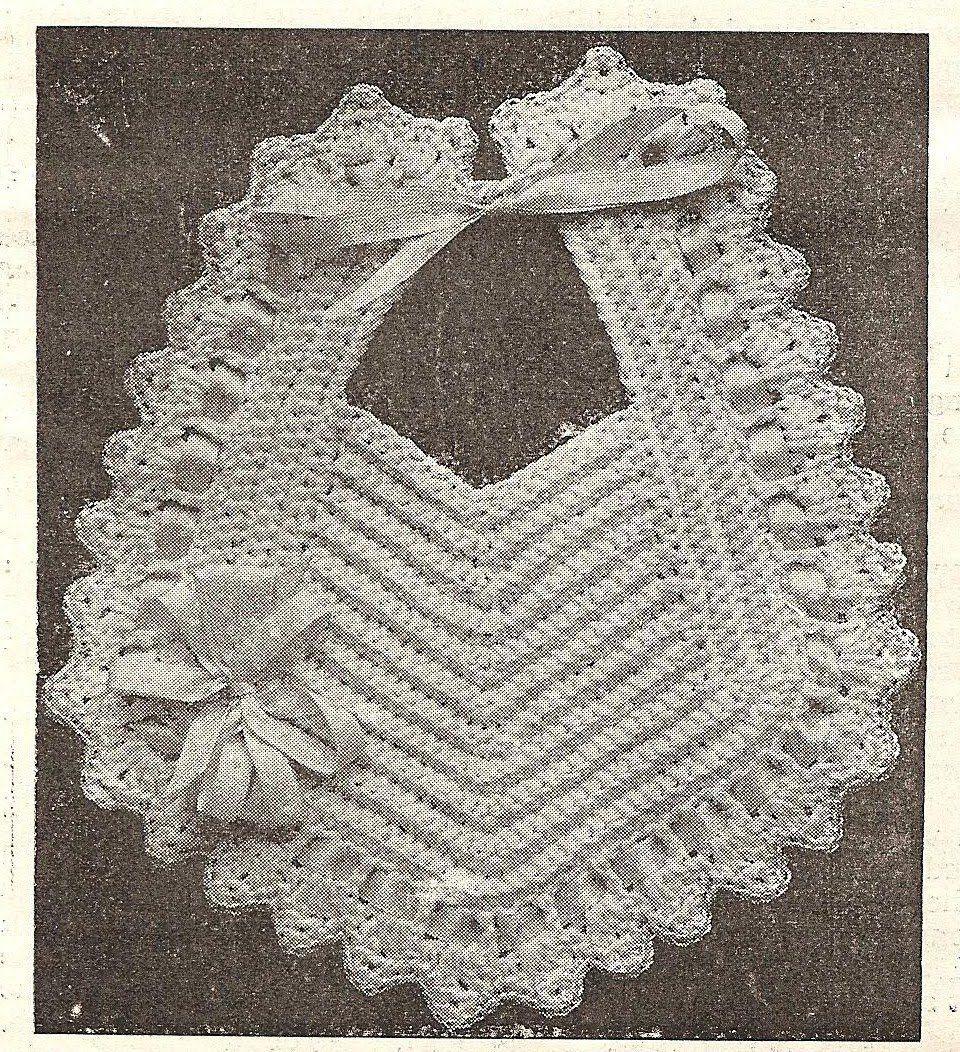 Little grey bungalow crochet a bib from 1915 projects to try little grey bungalow crochet a bib from 1915 crochet baby bibsfree crochetcrochet elephant pattern bankloansurffo Image collections