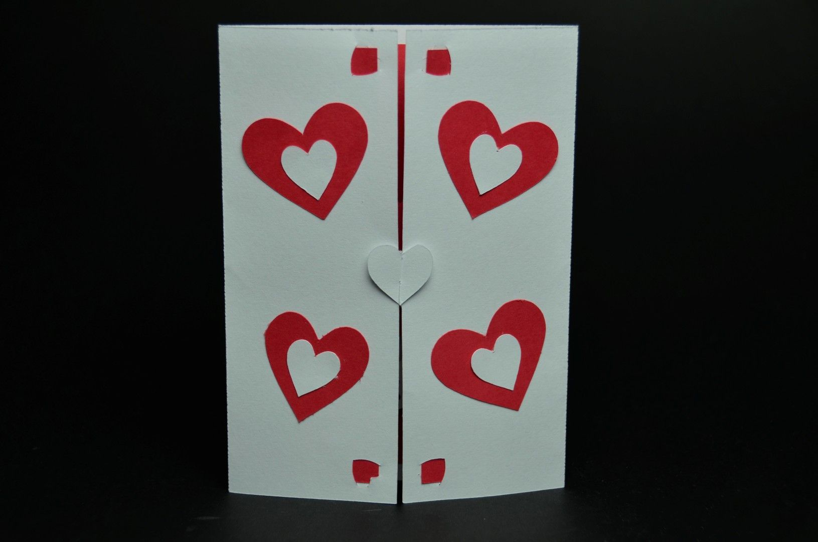 Twisting Hearts Pop Up Card Template Creative Pop Up Cards Pop Up Card Templates Heart Pop Up Card Card Template