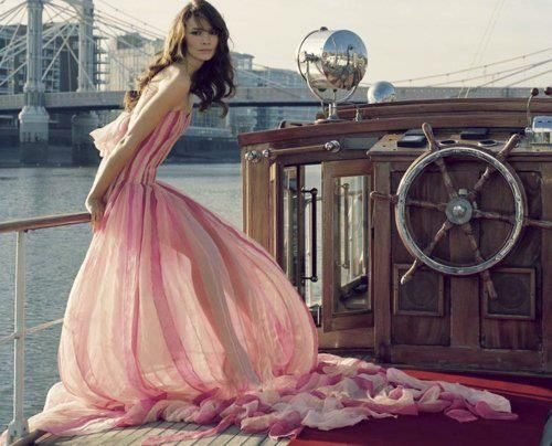 in a gown, on a boat...one day. BUCKET LIST!