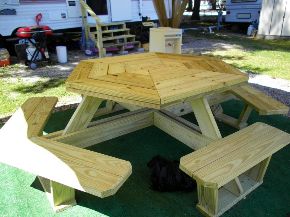 Build Your Own Picnic Table Seats 10 S Or 12 Kids Also Makes Great