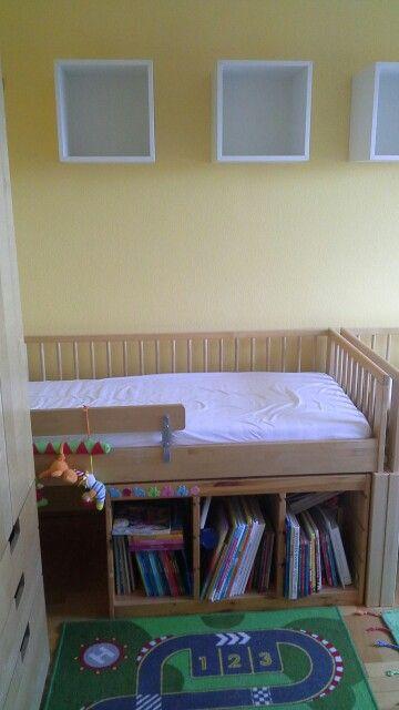 Ikea Hack Stuva Storage Bench Kids Bedroom Diy Grey And White