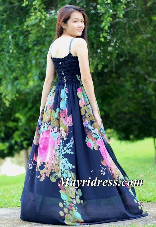 085aace50f Navy Blue Dress Prom Maxi Dress Casual Dress Plus Size Dress Summer  Sundress Beach