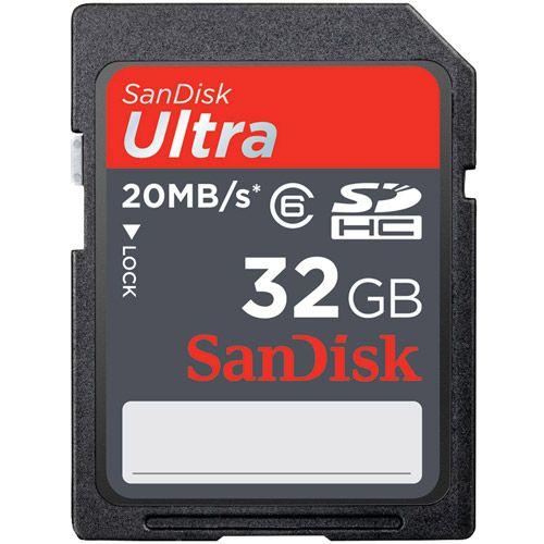 Sandisk Ultra 32gb Class 10 Sdhc Memory Card Walmart Com Flash Memory Card Sandisk Memory Cards