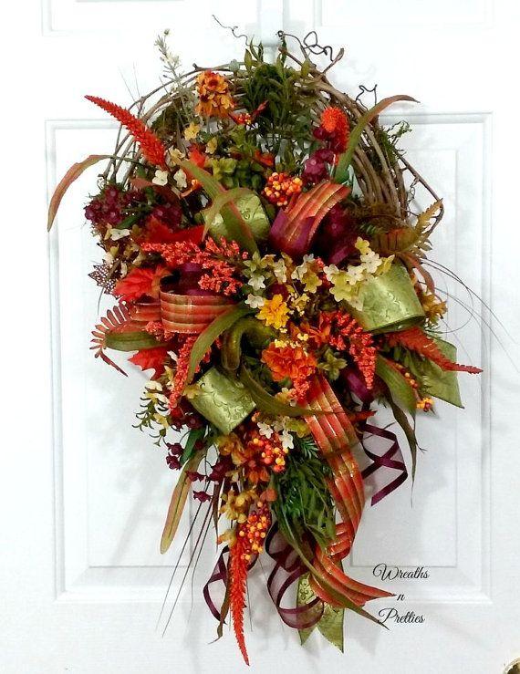 Fall Grapevine By Overandbeyonddesigns Wreathwreath Fallautumn Wreathsfront Doorsfront