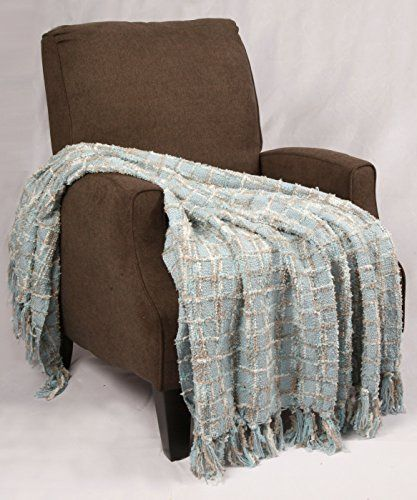Bnf Home Multi Color Chenille Couch Throw Blanket 50 By 60 Grey