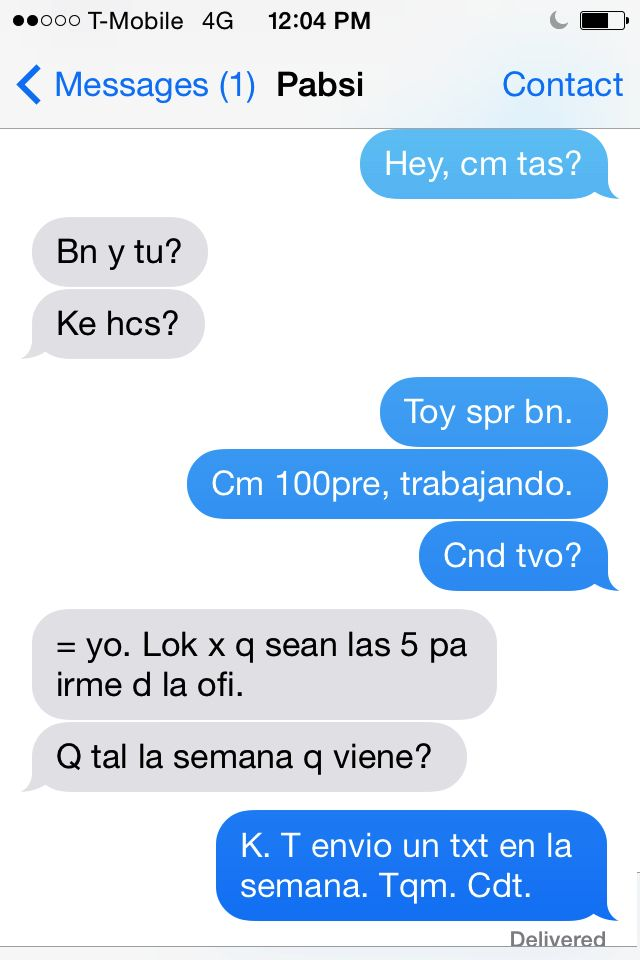 Texting in Spanish, photo by Jily | Spanish | Pinterest | Clase de ...