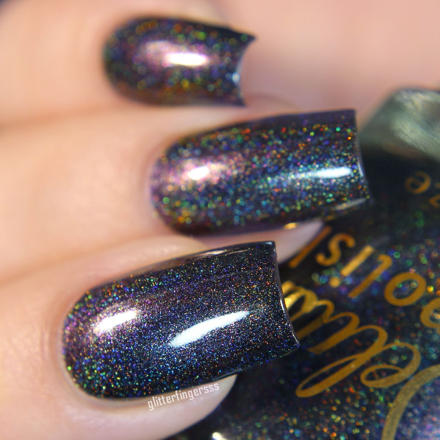 Warden of Darkness | Holographic nail polish, Holographic nails and ...