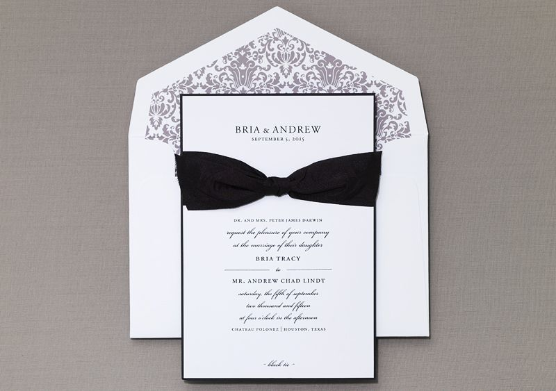 Vignette Wedding Invitation by Honey-Paper.com #wedding #luxurywedding #pariswedding #b.t.elements