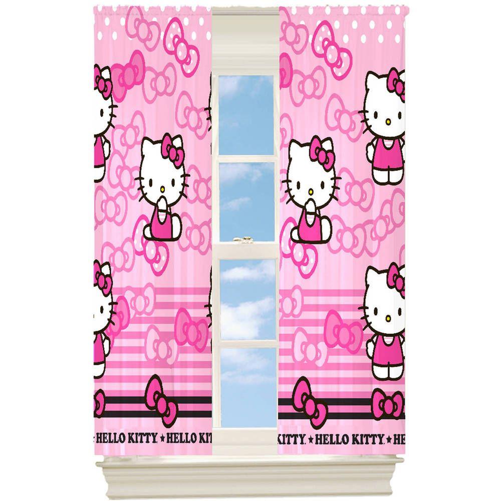 Hello Kittygardine Kindergardine Vorhang Schlaufenschalverdunkelt