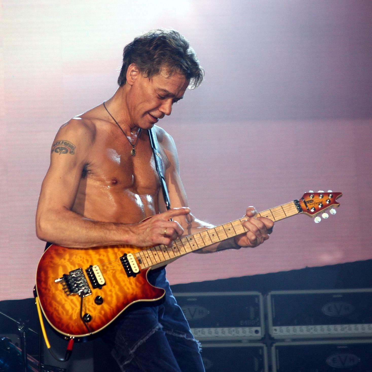 The Guitar God That Is Eddie Van Halen Eddie Van Halen Van Halen Best Guitarist