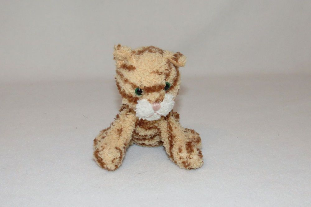 Target Orange Kitty Cat Tabby Striped 6 Mini Stripe Plush Bean