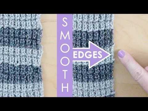 A Couple Examples Of Edges With The First Stitch Slipped One
