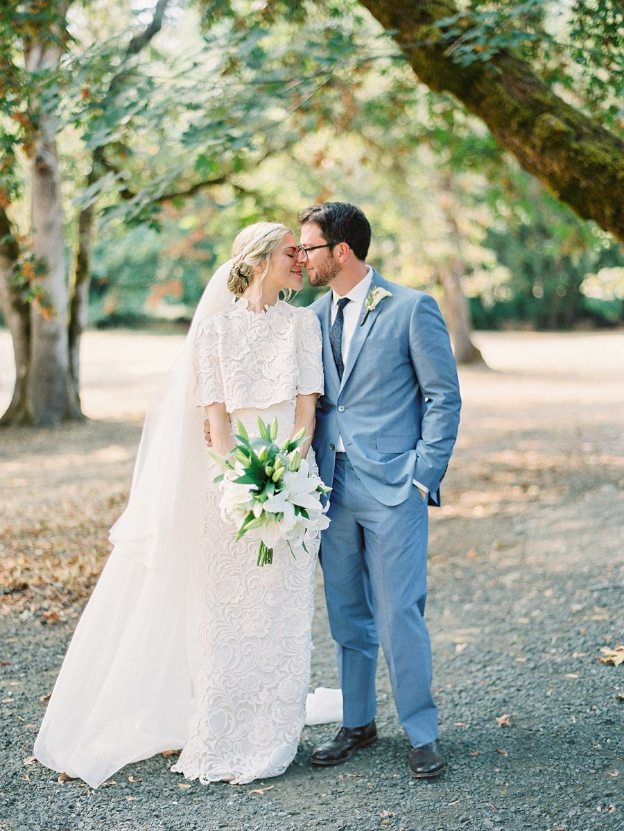 This Bride Works for Prada, and Her Custom-Designed Dress is BEYOND ...