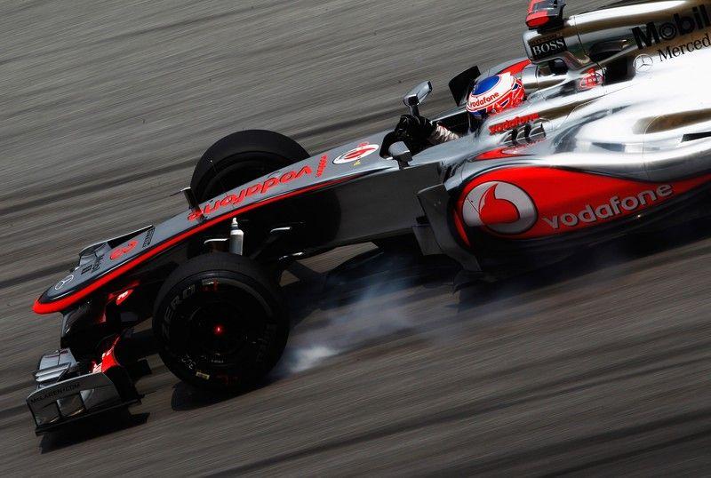 Jenson Button F1 2012 Malaysian GP Practice 2 Grand