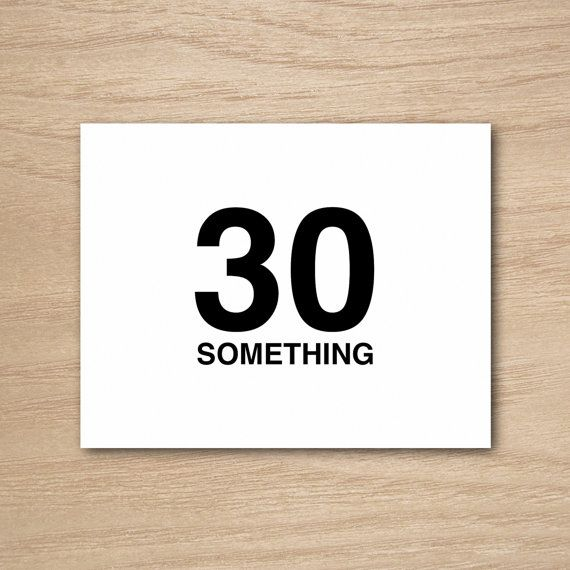 Funny Humor Happy Birthday 30s Thirties Greeting Card by Curly - printable greeting card templates