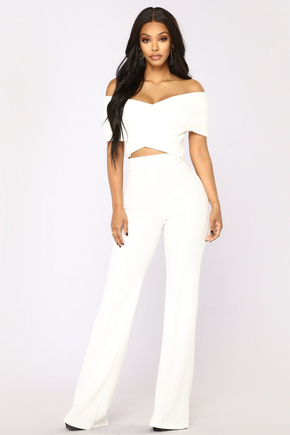 fbefdaf4420 So Empowered Off Shoulder Top - White in 2019 | My Style | Off ...