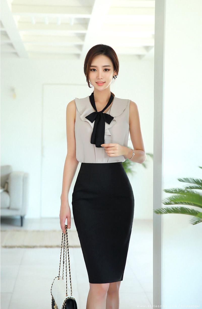 20 Pencil Skirt ideas   fashion outfits, asian fashion, korean fashion