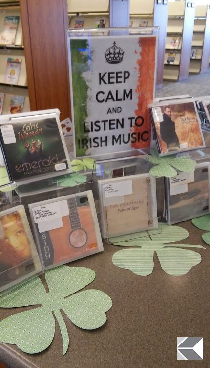 Kent Free Library Keep Calm and Listen to Irish Music CD