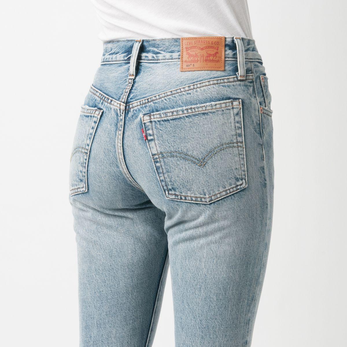 672011afe9c6 Levi s Premium 501 Skinny Selvedge Jean in Summer Dune 100% Cotton Red Line  Cone Mills Denim