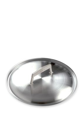 Moneta Gray Pro Protection Base Stainless Steel Lid 10-in.