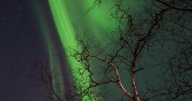 Auroras boreales desde Alberta, Canadá | El Universo Hoy