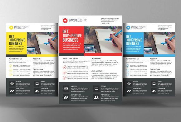 Corporate Creative Business Flyer Creativework247
